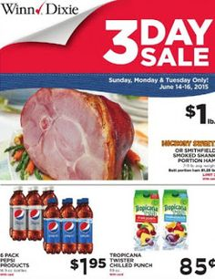 Winn-Dixie 3-Day Sale