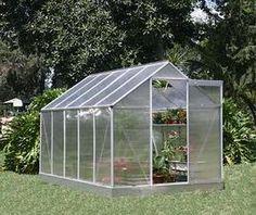 Sain anopiltani hänen (tarpeettoman) kasvihuoneensa / My mother-in-law gave me her greenhouse (she didn't need it)