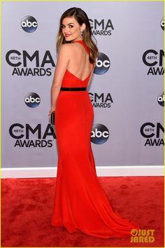 #Lucy Hale #CMAS Awards #Red Carpet #Dress #Fashion