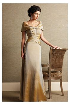 Luxurious Mother of the Bride Dress with Intricate Pleats, Quality Unique Mother of the Bride Dresses - Dressale.com
