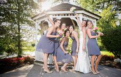 Nikki and Eric's Wedding - Bride with Her Bridesmaids - Reiner Photography