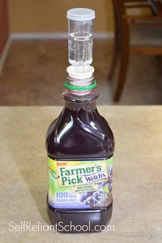 How To Make Wine From Almost Any Store-Bought Juice~SelfReliantSchool.com