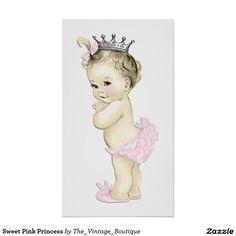 Sweet Pink Princess Poster