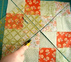 Disappearing 16 Patch Quilt Block Tutorial
