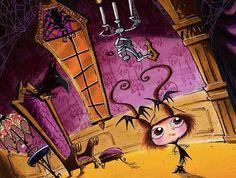 vampirinha do livro de Guy Vasilovich - The 13 Nights of Halloween