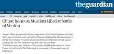 28,000 Muslims had died for France  *2006