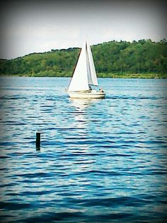 Sailing on the Susquehanna....lots of boating and swimming and fishing on the river