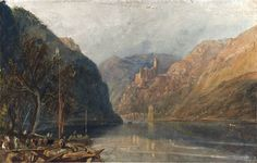 J. M. W. Turner - St Goarhausen and Katz Castle