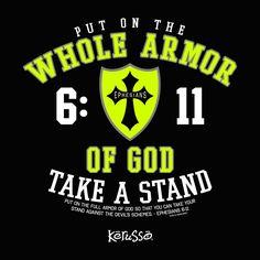 Adult Christian T - Whole Armor
