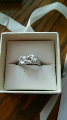 ENGAGEMENT RING 14KT WHITE GOLD RING 1CTW REDUCED in Concord, NC (sells for $2,200)