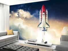 Space Shuttle Wall Mural Part 68