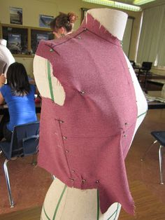 Resurrecting this blog from the grave…with draping! | Full-Time Vixen Sewing Coat, Sewing Clothes, Diy Clothes, Duct Tape Dress, Pattern Draping, Vetement Fashion, Skirt Patterns Sewing, Couture Sewing, Sewing Blogs
