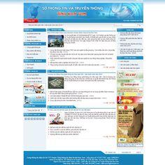 Website Sở Thông Tin & Truyền Thông Tỉnh Kon Tum - Thiết kế web http://cnm.com.vn