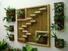 Quer uma fonte em casa? Você mesmo pode fazer e personalizar de acordo com sua decoração e com seu gosto. Ela é ideal para espaços pequen...