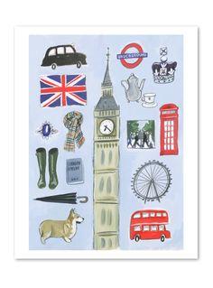 London by Kathryn Warren, prints on @buddyeditions