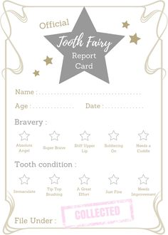 Tooth Fairy Free Printable Certificate  Printable Certificates
