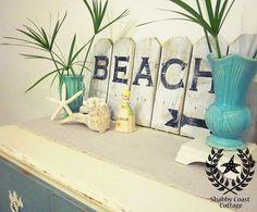 nautical decor diy | DIY Coastal Decor / Love the Beach Sign ~~~  | followpics.co