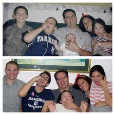 Retake an old family photo- I LOVE MY FAMILY!!!!!!