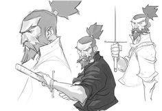 Chris Copeland - Character Design Page