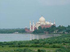 Taj Mahal From Agra Fort  #TajMahal