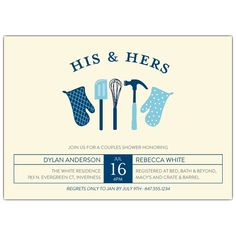 Couple+of+Mitts+Wedding+Shower+Invitation