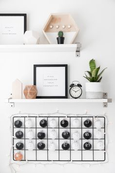Make this DIY IKEA Hack Advent Calendar, so that you can count down the days to Christmas in style!