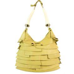 yves laurent handbags - yves saint laurent ruffle-accented st. tropez bag, ysl belle de ...