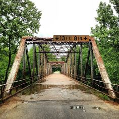 Route 66 Missouri USA Great photo... you don't see many of these bridges anymore..
