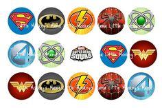 super heroes symbols