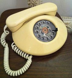 Vintage phone in working condition! Great piece for use or decor. $45.00