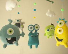 Plush toys Felt toys Monster Monster Friends by Feltnjoy on Etsy