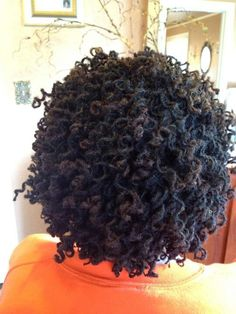 Pipe cleaner curls on Sisterlocks Lovely Sisterlocks #dreadlocks +dreadstop @DreadStop - One Love.