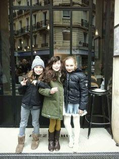 Drôles de (petites) dames Kids street style by Hélène Lahalle pour MilK magazine.