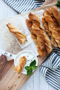 Brotsticks Parmesan Törtchenzeit