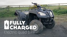 Electric Quad Bike   Fully Charged
