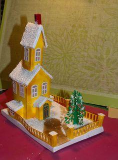 3 story glitter house