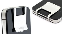 Great design - money clip on your iPhone.