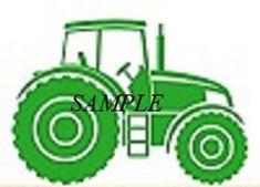Little Farming Tractor Cross Stitch Chart   Craftsy