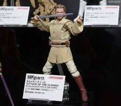 S.H. Figuarts Star Wars: Attack Of The Clones Obi-Wan Figure Revealed