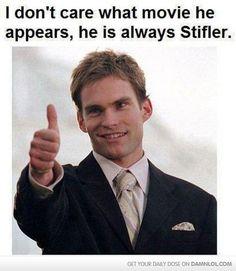 He Will Always Be Stifler.