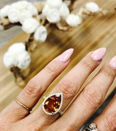 Happy Friyayyyyyyy !!! #coloredgems #citrinegems #diamonds #engagememtrings
