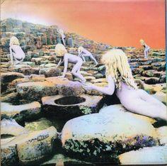 Led Zeppelin - Houses Of The Holy  Atlantic K 50014 - Enregistré de janvier à août 1972 - Sortie le 28 mars 1973  Note: 5/10