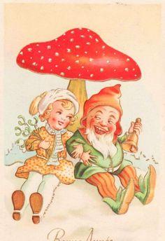 Gnomes Amp Toadstools On Pinterest
