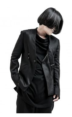 Chaos From Undermind draped back jacket from unconventional