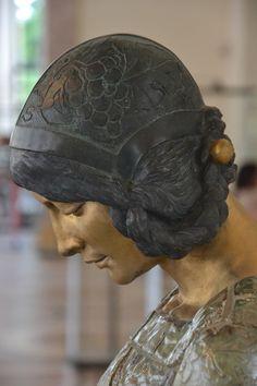 La femme au singe, Camille Alaphilippe, 1908, détail. Petit Palais, Paris