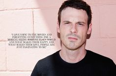 SCOOT MCNAIRY, people are fascinating for me