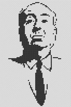 Beaded Cross Stitch, Cross Stitch Embroidery, Cross Stitch Patterns, Pixel Art, Beading Patterns, Embroidery Patterns, Stitch Movie, Snitches Get Stitches, Tapestry Crochet