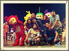Photo remix by Guntur Firman Septianto via @Slidely  foto bareng sama telletubies di malioboro nih :)