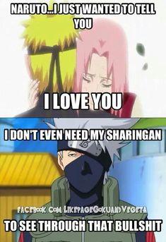 Kakashi is too smart
