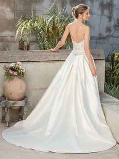 Casablanca Bridal Style 2299 Sequoia A-Line Wedding Dress Modest Wedding Gowns, Bridal Gowns, Allure Bridal, Bridal Boutique, Bridal Collection, Beautiful Bride, Bridal Style, One Shoulder Wedding Dress, Casablanca
